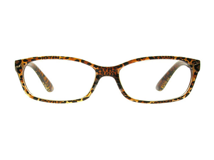 'Brazil' Reading Glasses Brown Leopard