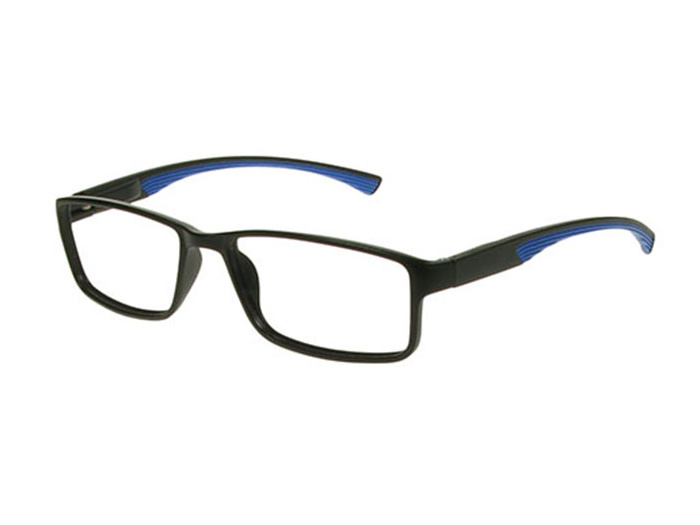 'Boardroom' Reading Glasses Black/Blue