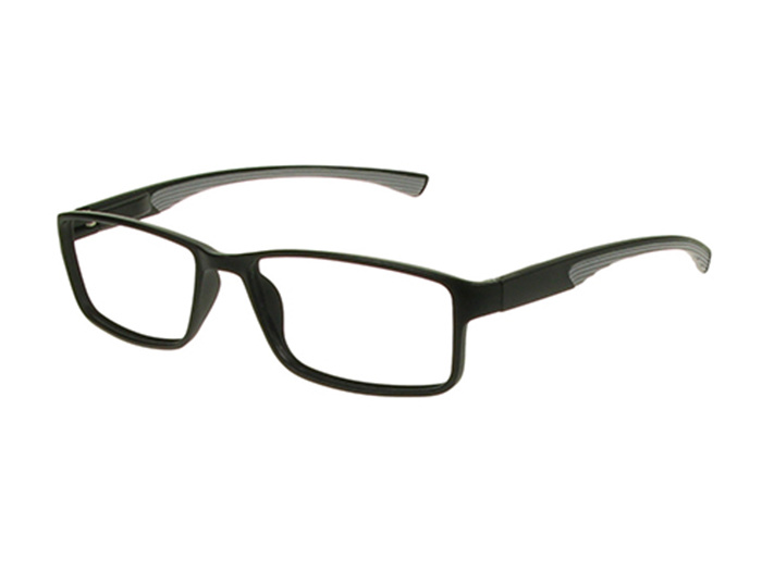 'Boardroom' Reading Glasses Black/Gray