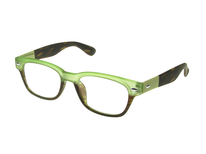 'Brook' Reading Glasses Green