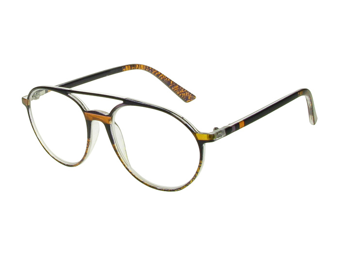 'Boston' Reading Glasses Black/Brown