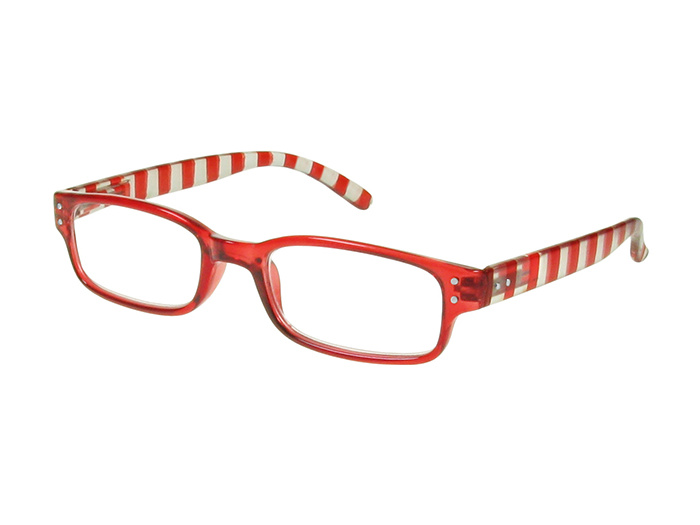 'Newport' Reading Glasses Red