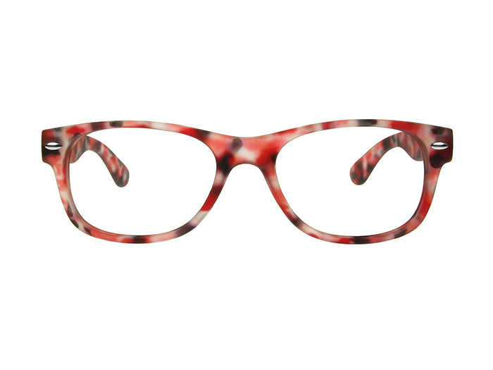 'Brighton' Reading Glasses Red