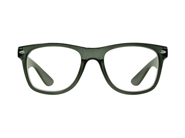 'Billi Big' Reading Glasses Gray