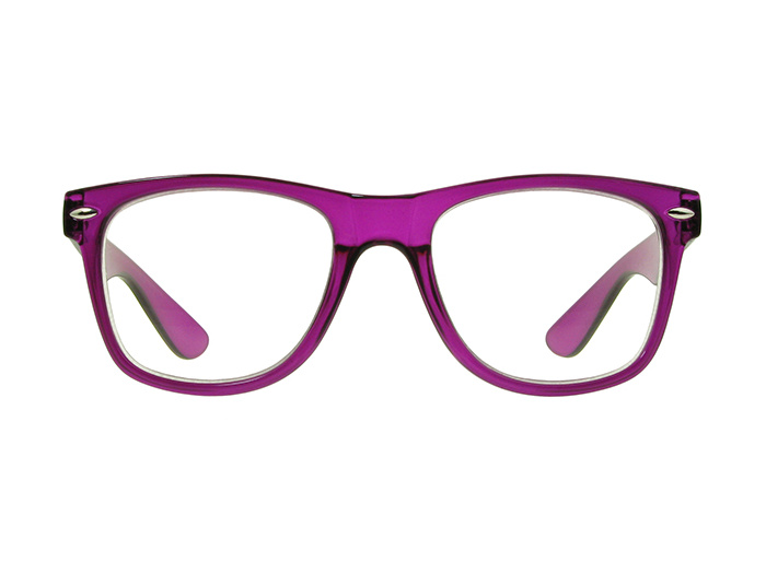 'Billi Big' Reading Glasses Purple