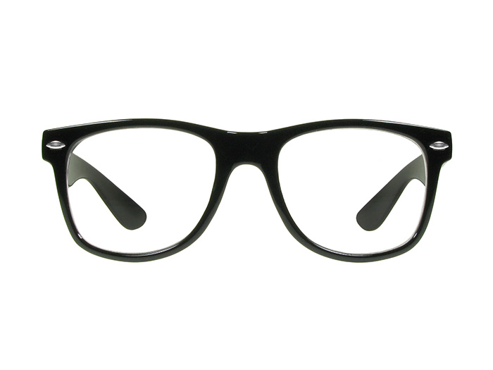 'Billi Big' Reading Glasses Shiny Black