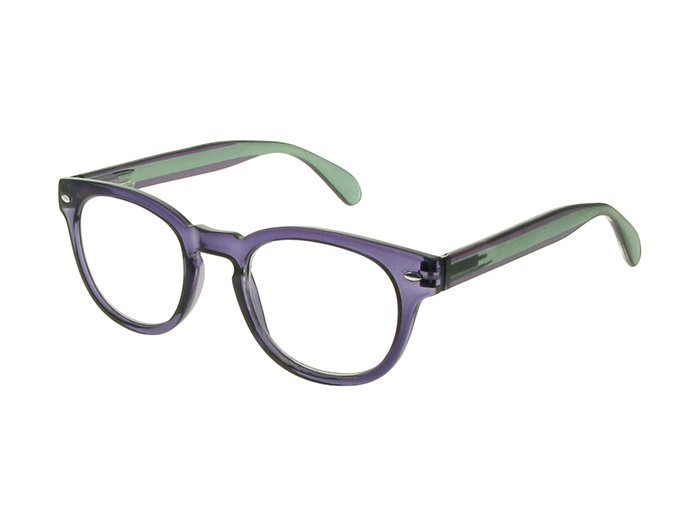 'Metro' Reading Glasses Purple