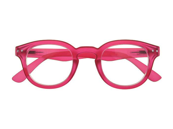 'Holiday' Reading Glasses Fuchsia