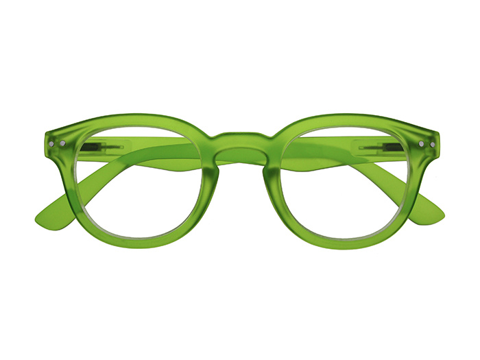 'Holiday' Reading Glasses Green
