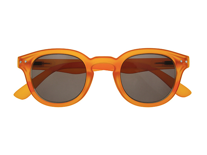 'Holiday' Reading Sunglasses Orange