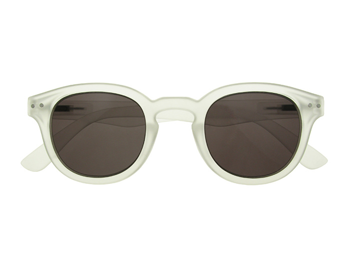 'Holiday' Reading Sunglasses White
