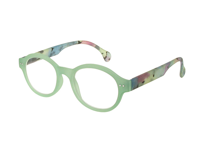 'Lola' Reading Glasses Green