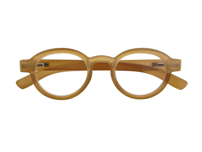 'Orlando' Reading Glasses Brown