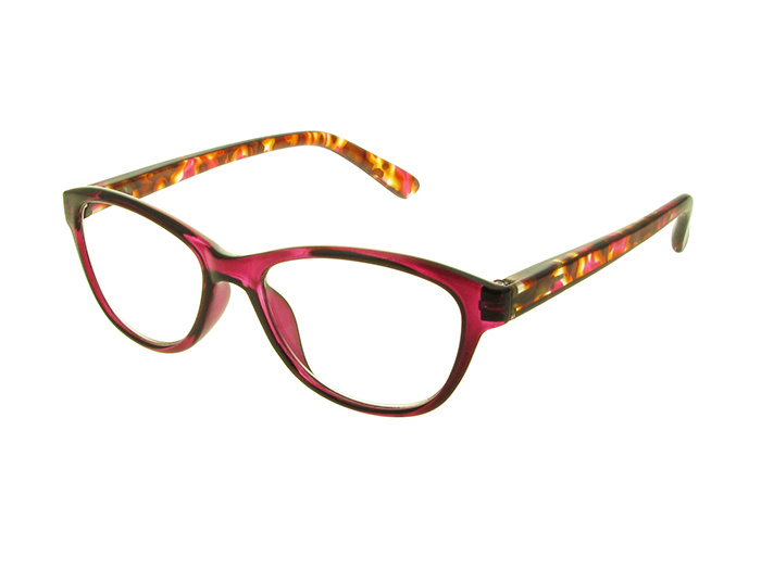 'Lucille' Reading Glasses Fuchsia