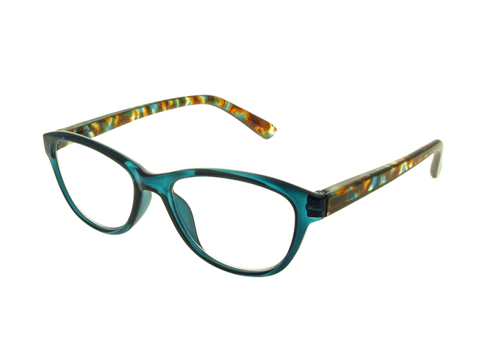 'Lucille' Reading Glasses Turquoise