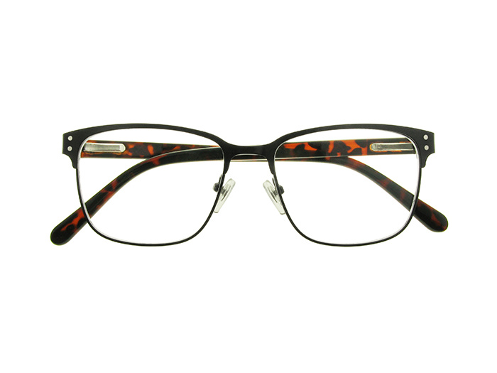'Freddie' Reading Glasses Black/Tortoiseshell