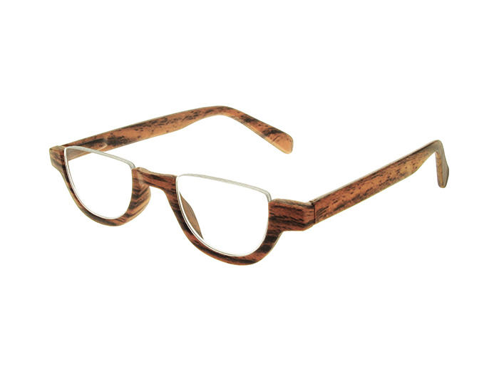 'Fulham' Reading Glasses Brown