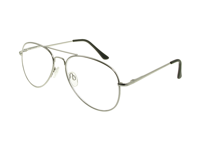 'Ace' Reading Glasses Silver