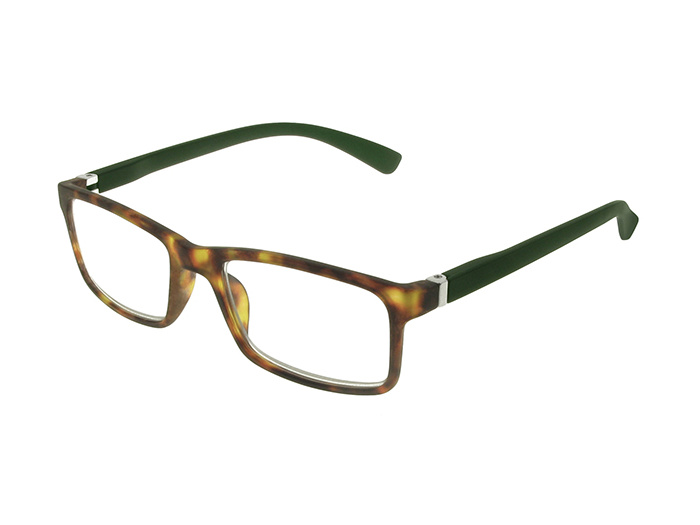 'Parker' Reading Glasses Tortoiseshell/Dark Green