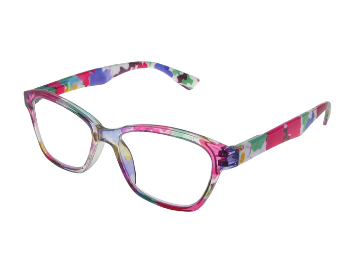 'Belle' Reading Glasses Pink/Purple
