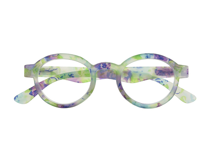 'Botanica' Reading Glasses Blue Floral