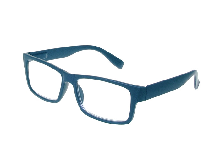 'Logan' Reading Glasses Matte Blue