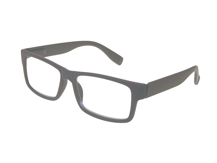'Logan' Reading Glasses Matte Gray