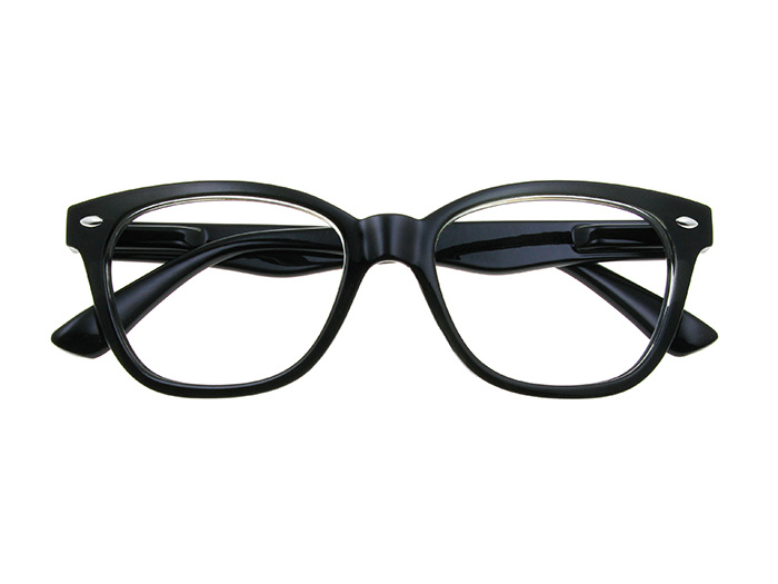 'Josey' Reading Glasses Black