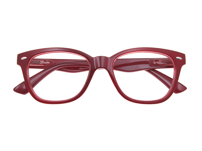 'Josey' Reading Glasses Burgundy