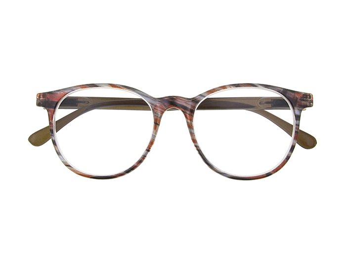 'Isla' Reading Glasses Brown/Gray