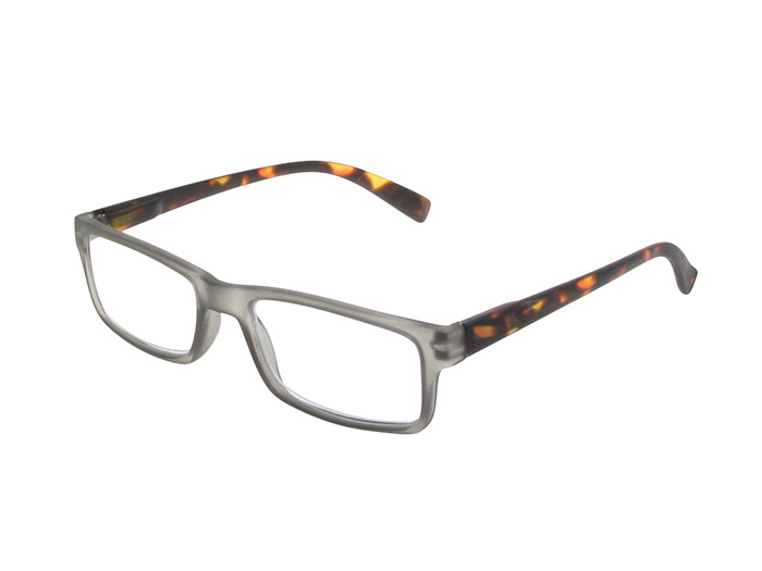 'Alex' Reading Glasses Gray/Tortoiseshell