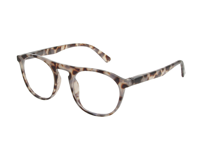 'Bloomsbury' Reading Glasses White Tortoiseshell