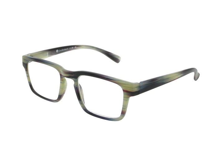 'Stockholm' Reading Glasses Gray Stripe