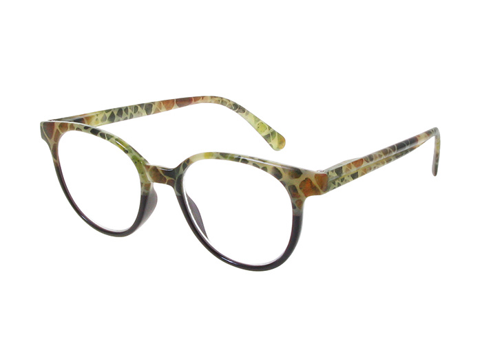 'India' Reading Glasses Brown