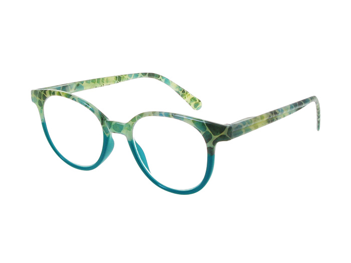'India' Reading Glasses Turquoise