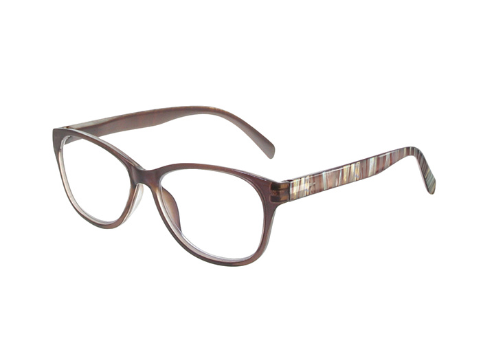 'Alli' Reading Glasses Taupe