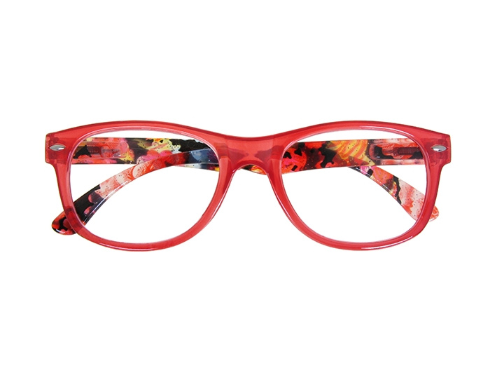 'Megan' Reading Glasses Red