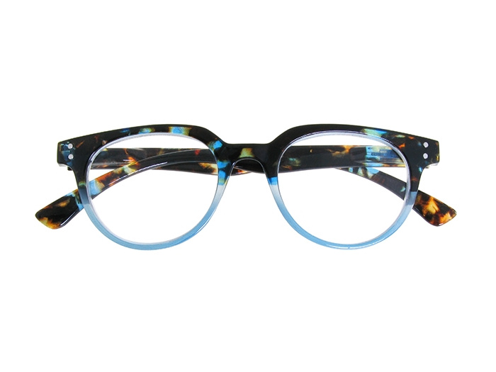'City' Reading Glasses Blue