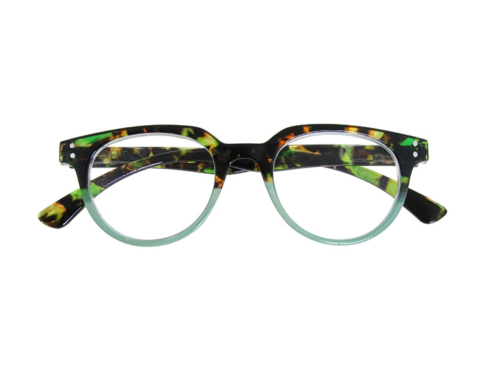 'City' Reading Glasses Green