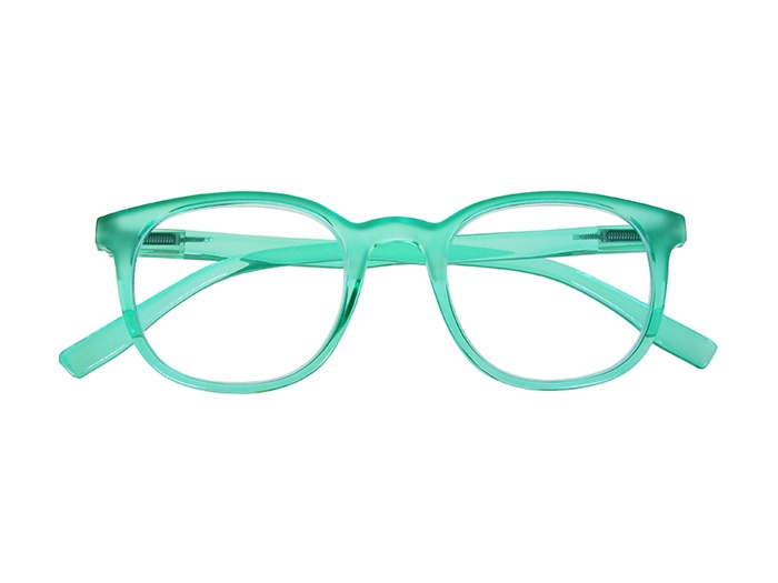 'Perrie' Reading Glasses Green