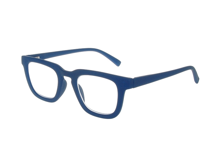'Burbank' Reading Glasses Matte Blue
