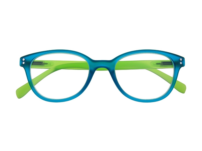 'Emmy' Reading Glasses Blue/Green