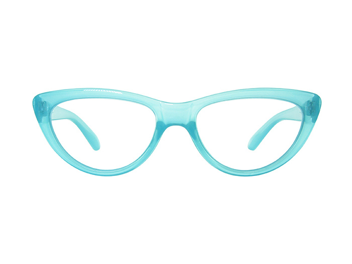 'Cleo' Reading Glasses Blue