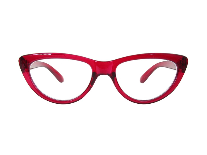 'Cleo' Reading Glasses Red