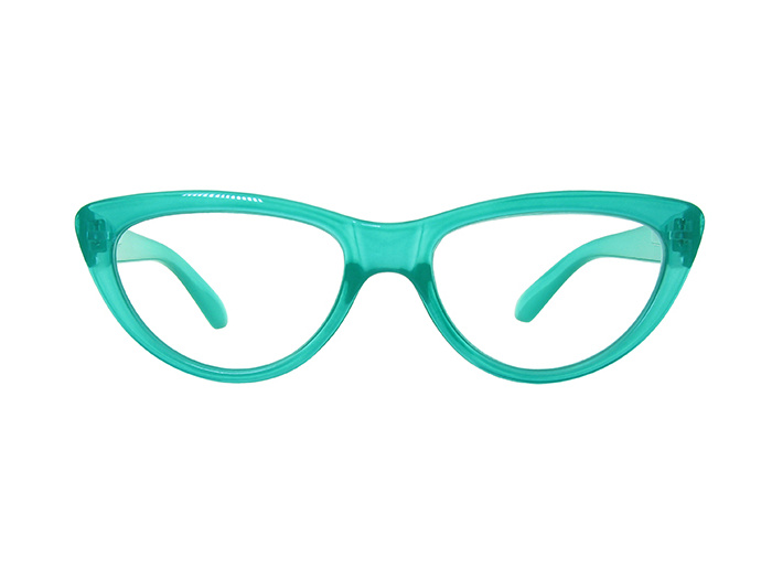 'Cleo' Reading Glasses Turquoise