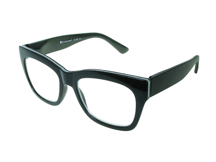 'Showtime' Reading Glasses Black