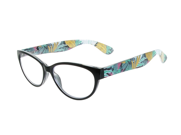 'Eden HD' Reading Glasses Black