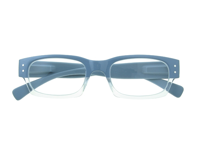 'Portabello' Reading Glasses Light Blue