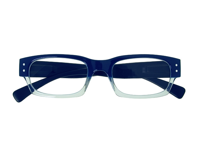 'Portabello' Reading Glasses Navy Blue
