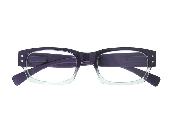 'Portabello' Reading Glasses Purple